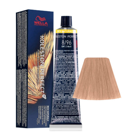 8/96 Lichtblond Cendre Violet Wella Koleston perfect Me+ Rich Naturals 60ml