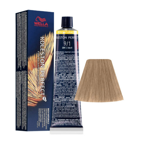 9/1 Lichtblond Asch Wella Koleston perfect Me+ Rich Naturals 60ml
