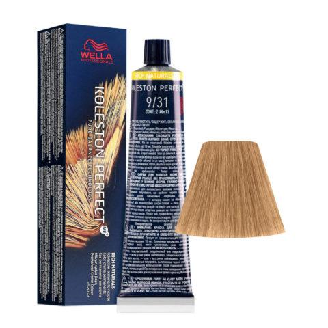 9/31 Lichtblond Gold-Asch Wella Koleston perfect Me+ Rich Naturals 60ml