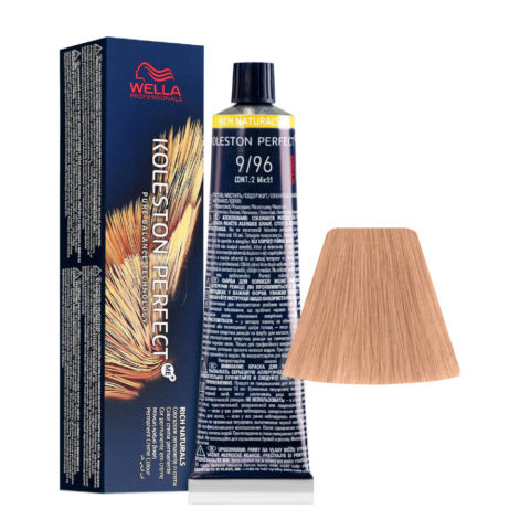 9/96 Lichtblond Cendre Violet Wella Koleston perfect Me+ Rich Naturals 60ml