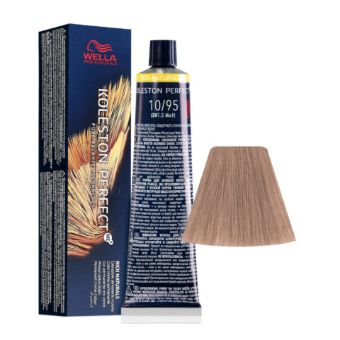 10/95 Hell-Lichtblond Cendrè Mahogani Wella Koleston perfect Me+ Rich Naturals 60ml