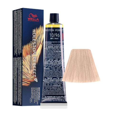 10/96 Hell-lichtblond Cendre Violet Wella Koleston perfect Me+ Rich Naturals 60ml