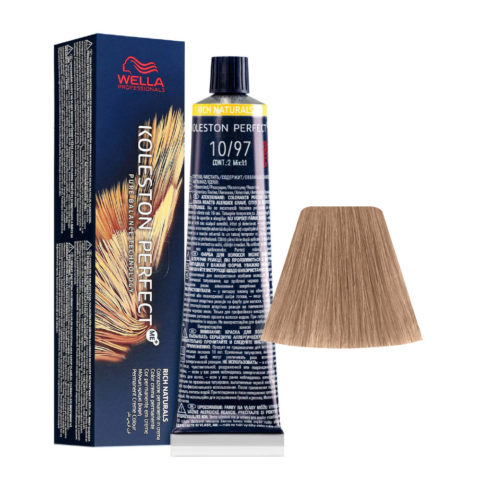 10/97 Hell-lichtblond Cendré-braun Wella Koleston perfect Me+ Rich Naturals 60ml