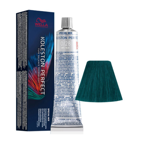 0/28 Matt-Blau Wella Koleston perfect Me+ Special Mix 60ml