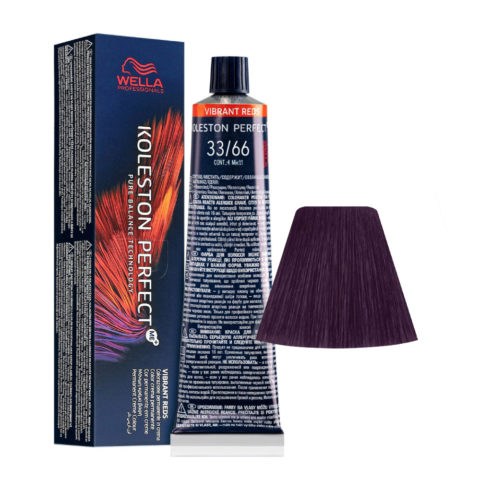 33/66 Dunkelbraun Extra Intensiv-Violet Wella Koleston perfect Me+ Vibrant Reds 60ml