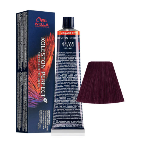 44/65 Mittelbraun Intensiv Violett-Mahagoni Wella Koleston perfect Me+ Vibrant Reds 60ml