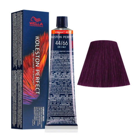 44/66 Mittelbraun Intensiv Violet Intensiv Wella Koleston perfect Me+ Vibrant Reds 60ml