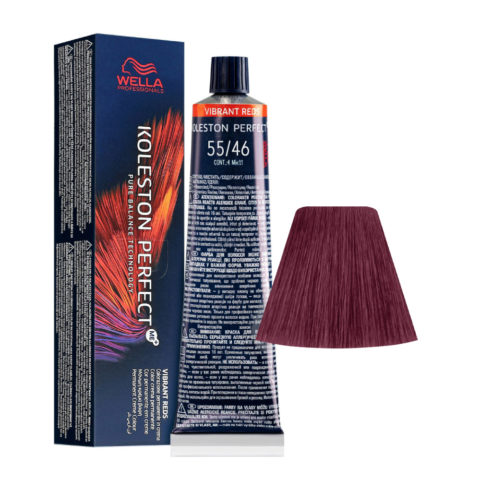 55/46 Intensives Hellbraun Kupfer Violet Wella Koleston perfect Me+ Vibrant Reds 60ml