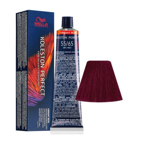 55/65 Hellbraun Intensiv Violett-Mahagoni Wella Koleston perfect Me+ Vibrant Reds 60ml