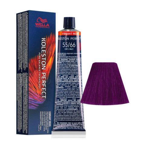 55/66 Hellbraun Intensiv Violet Intensiv Wella Koleston perfect Me+ Vibrant Reds 60ml