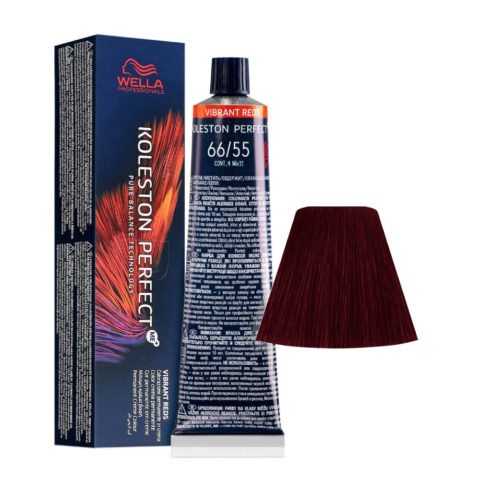 66/55 Dunkelblond intensives Mahagoni intensives Wella Koleston perfect Me+ Vibrant Reds 60ml