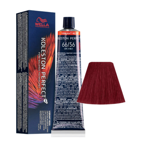 66/56 Dunkelblond Intensives Violettes Mahagoni Wella Koleston perfect Me+ Vibrant Reds 60ml