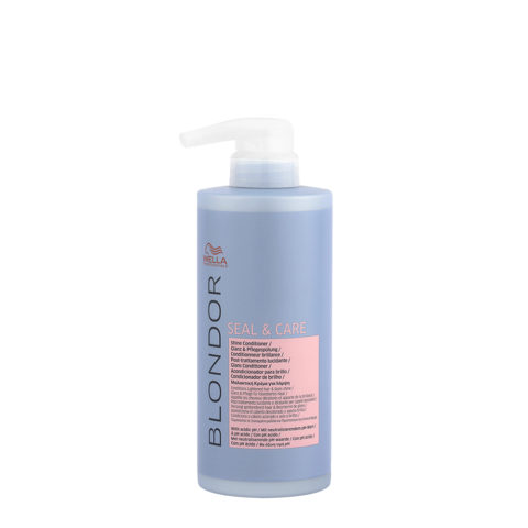 Wella Blonde Seal and Care Shine Conditioner 500ml - Post Verfärbung Glanz - Conditioner
