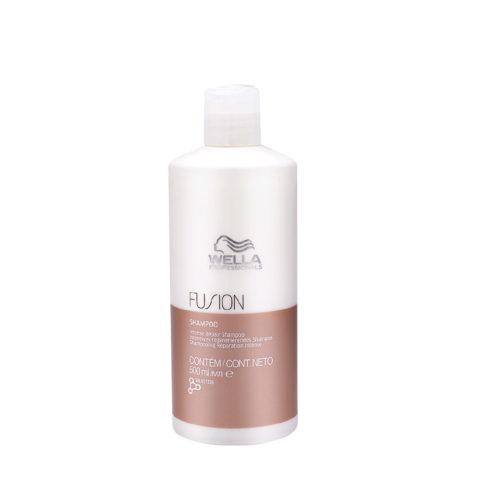 Wella Fusion Shampoo 500ml - intensives regenerierendes shampoo