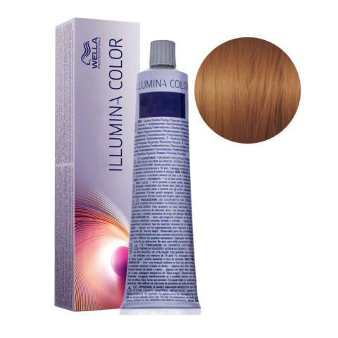 7/35 Mittelblond gold-mahagoni Wella Illumina Color 60ml