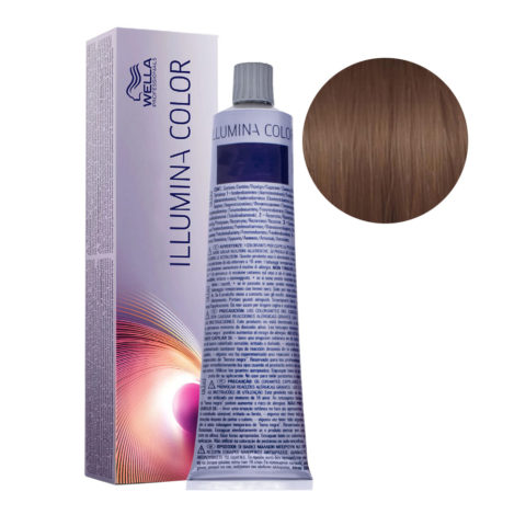 6/76 Dunkelblond braun-violett Wella Illumina Color 60ml