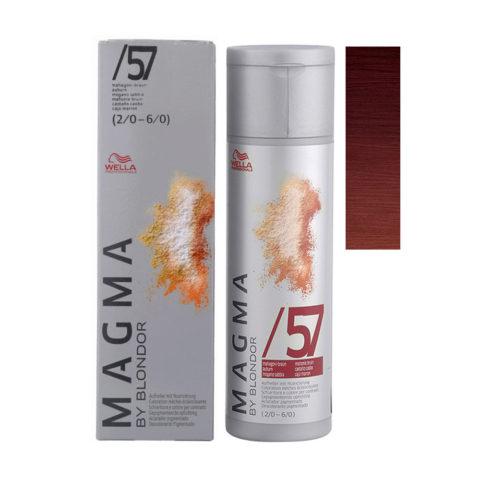 /57 Mahagoni braun Wella Magma 120gr