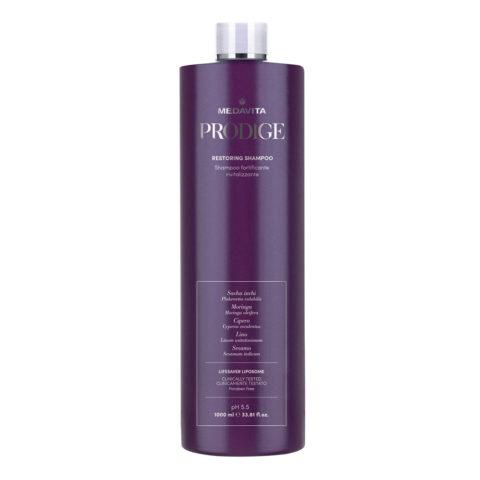 Medavita Prodige Restoring Shampoo 1000ml - Repair Shampoo
