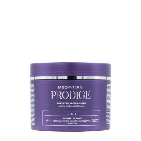 Medavita Prodige Fortifying Protein Cream Step1, 500ml - Stärkende Proteincreme