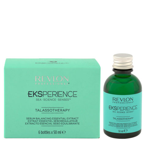 Eksperience Talassotherapy Serum Balancing Essential Extract 6x50ml - Für Fettige Kopfhaut