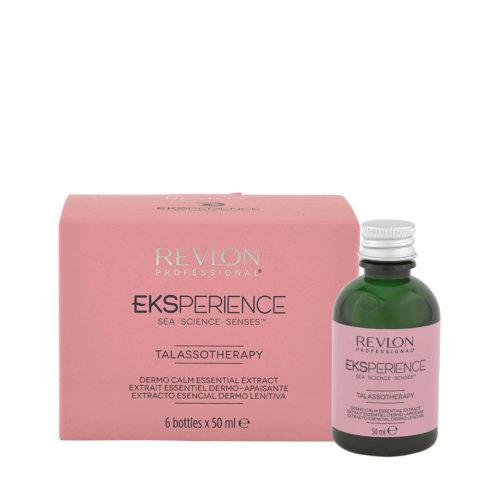 Eksperience Talassotherapy Dermo Calm Essential Extract 6x50ml - Für Empfindliche Kopfhaut