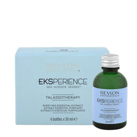Eksperience Talassotherapy Purifying Essential Extract 6x50ml - Für Kopfhaut Mit Schuppen