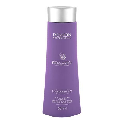 Eksperience Color Protection Blonde Grey Shampoo 250ml  - Für Blondes, Graues Oder Weißes Haar