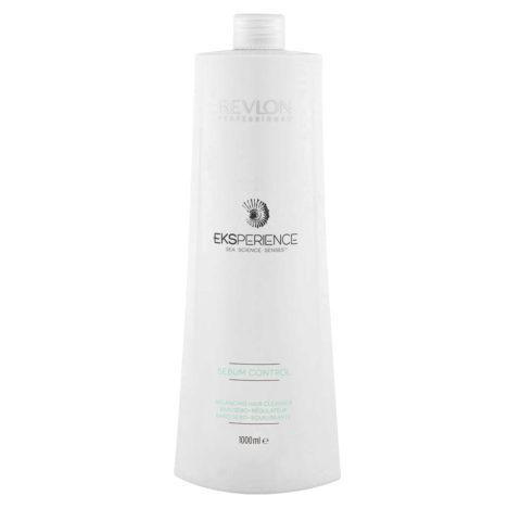 Eksperience Sebum Control Balancing Cleanser Shampoo 1000ml - Für Fettiges Kopfhaut