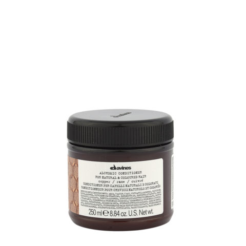 Davines Alchemic Conditioner Copper 250ml - Intensiviert Kupferfarbenes Haar