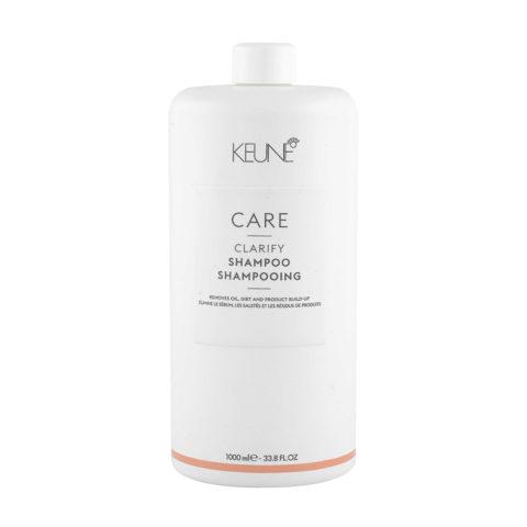 Keune Care line Clarify Shampoo 1000ml - Reinigendes Shampoo