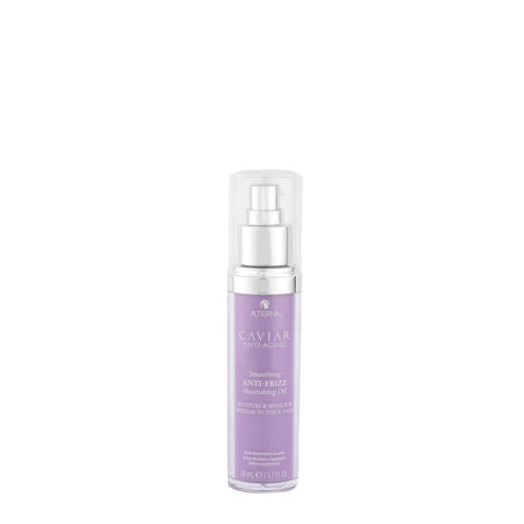 Alterna Caviar Smoothing Anti-Frizz Nourishing Oil 50ml - Feuchtigkeitsspendendes Anti - Frizz-Öl