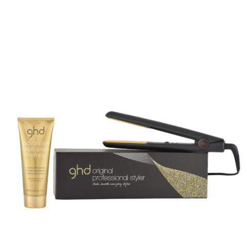GHD Kit Glätteisen Original Black Styler Split end therapy 100ml
