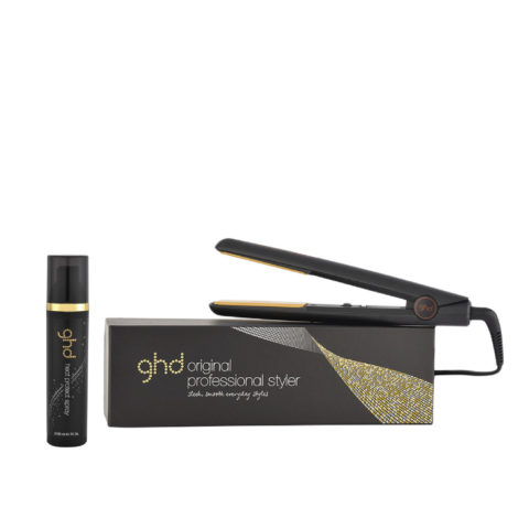 GHD Kit Glätteisen Original Black Styler Heat protect spray 120ml
