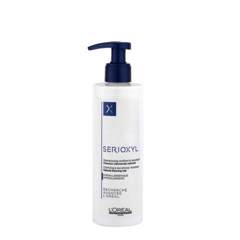 L'Oreal Serioxyl Clarifying densifying Shampoo 250ml - Verdichtung für natürliches Haar