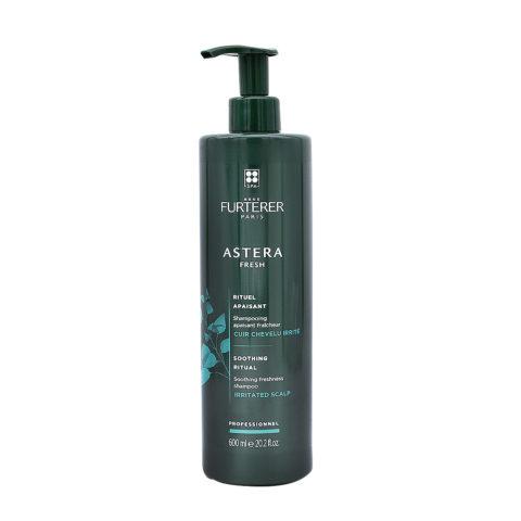 René Furterer Astera Fresh Soothing Freshness Shampoo 600ml - Erfrischend Esothing Für Gereizte Kopfhaut