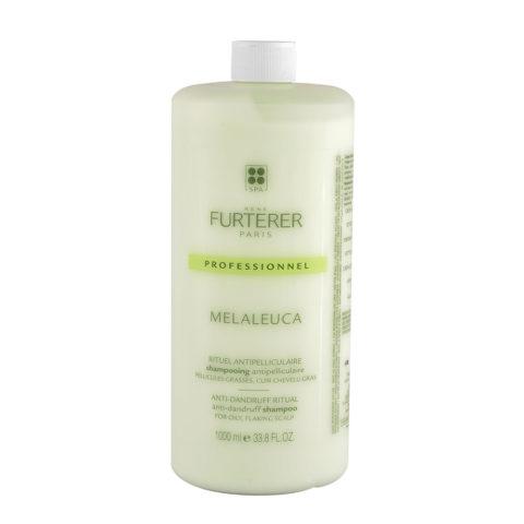 René Furterer Melaleuca Antidandruff Shampoo 1000ml - Anti-Fett-Schuppen Schampoo