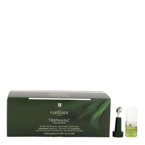 René Furterer Triphasic Progressive Anti-Hair Loss Treatment 16x5,5ml