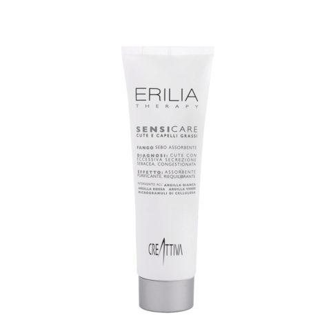 Erilia Sensicare Talg Absorbierender Schlamm 300ml - Kopfhautausgleichende Behandlung