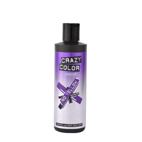 Crazy Color No Yellow Shampoo Ultraviolet 250ml - Anti - gelbes Shampoo