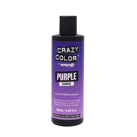 Crazy Color Shampoo Purple 250ml - Shampoo für lila Haare