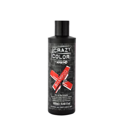 Crazy Color Shampoo Red 250ml - Shampoo für rot Haar