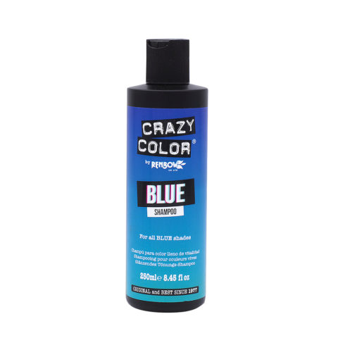 Crazy Color Shampoo Blue 250ml - Shampoo für blaue Haare
