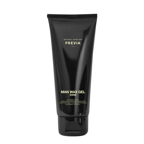 Previa Man Wax Gel Shine 200ml - stark Halt