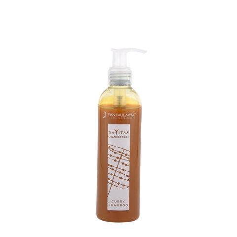 Jean Paul Myne Navitas Organic Touch shampoo Curry 250ml - Shampoo Gefärbtes Haar