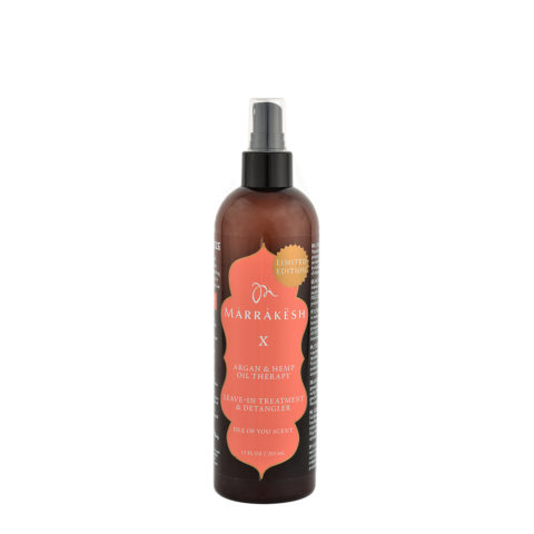 Marrakesh X Leave in treatment and Detangler Isle of You scent 355ml