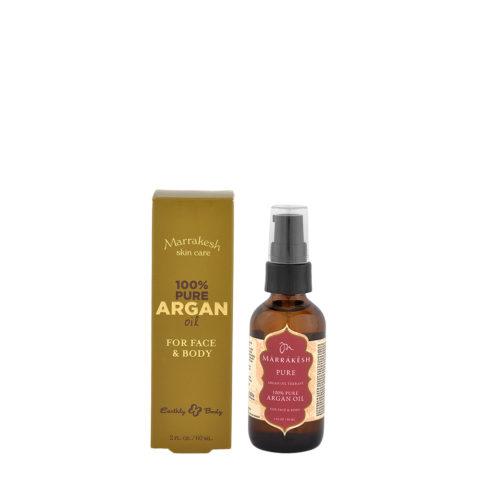 Marrakesh 100% Reines Arganöl für Gesicht und Körper 60ml