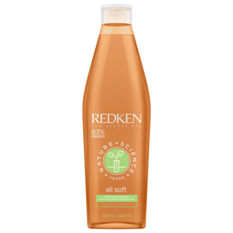 Redken Nature + Science All Soft Softening Shampoo 300ml - Feutigkeitsspendendes Shampoo