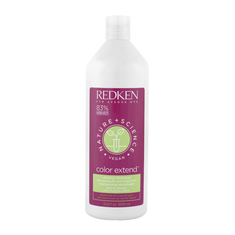 Redken Nature + Science Color Extend Shampoo 1000ml - Gefärbtes Haar Shampoo