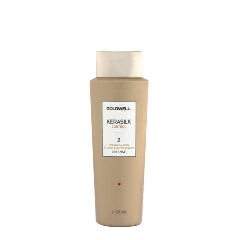 Goldwell Kerasilk Control 2 Keratin Smooth Intense 500ml - Glättung Behandlung