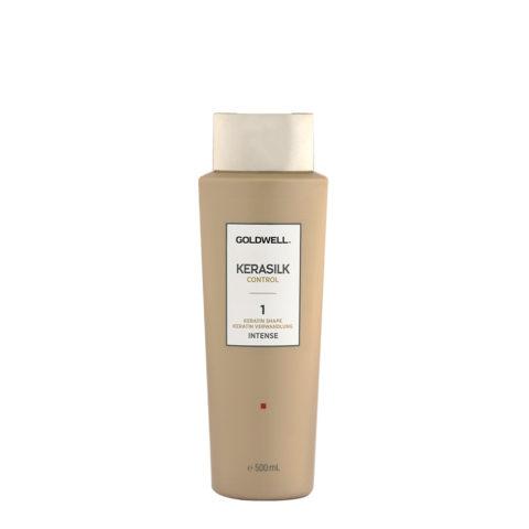 Goldwell Kerasilk Control 1 Keratin Shape Intense 500ml - Glättungsbehandlung